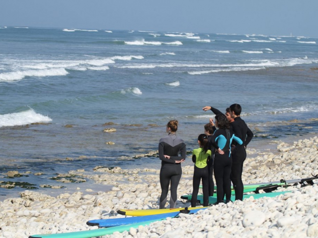 enjoy ecole surf oléron - cours explication
